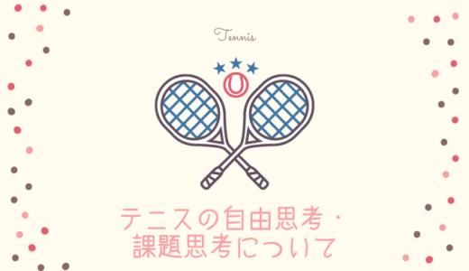 テニスの自由志向と課題志向・テニスの交流大会