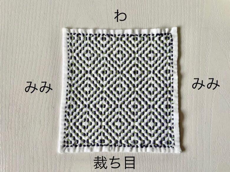 布の端の名称
