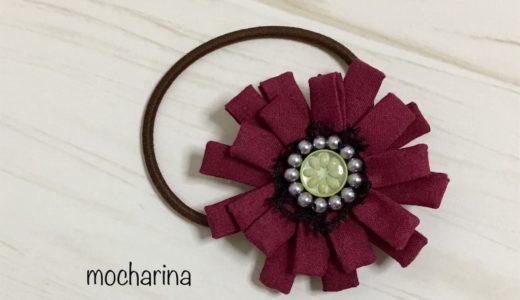10月の誕生月の花、ガーベラの髪飾りの作り方・花言葉
