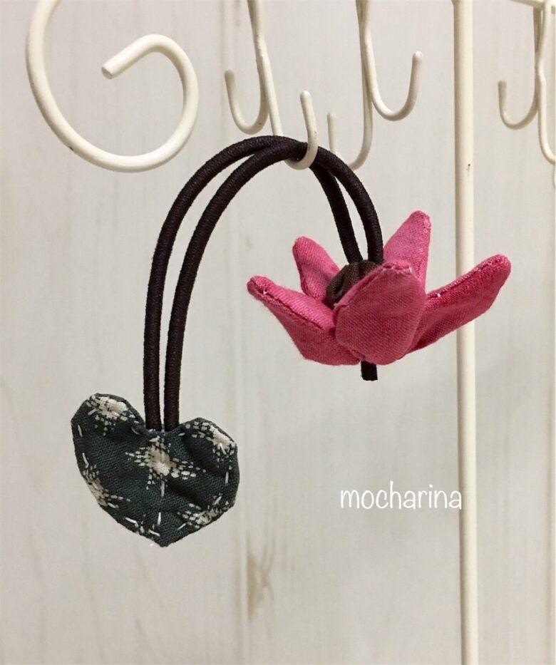 11月の誕生月の花、シクラメンの髪飾りの作り方・花言葉