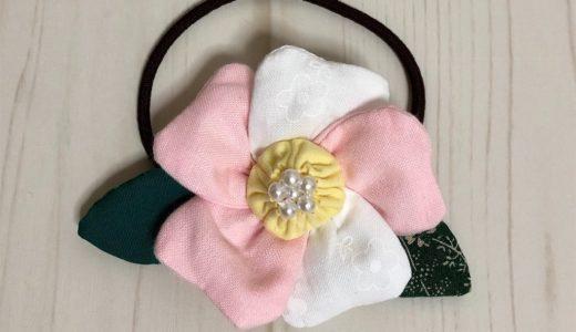 1月の誕生月の花・椿の髪飾りの作り方と花言葉