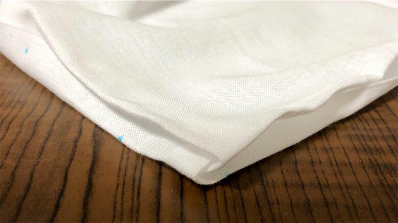 縫い代を差し込む