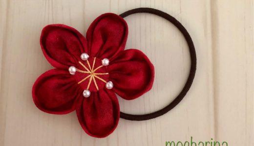 2月の誕生月の花・梅の髪飾りの作り方と花言葉