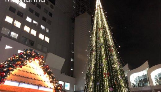 「ドイツ・クリスマスマーケット 大阪」2019年・白いホットワインを飲みました♪