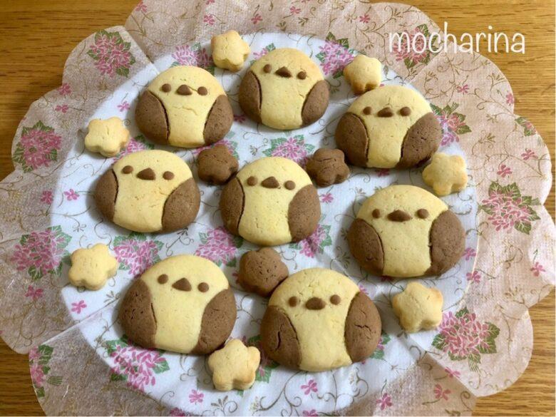 シマエナガちゃんクッキーの作り方!ホットケーキミックスのお菓子♡