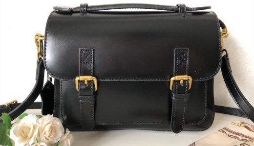 レトロな雰囲気が可愛いBaginningのショルダーバッグ!使う人の年齢を問わない人気のサッチェルバッグ